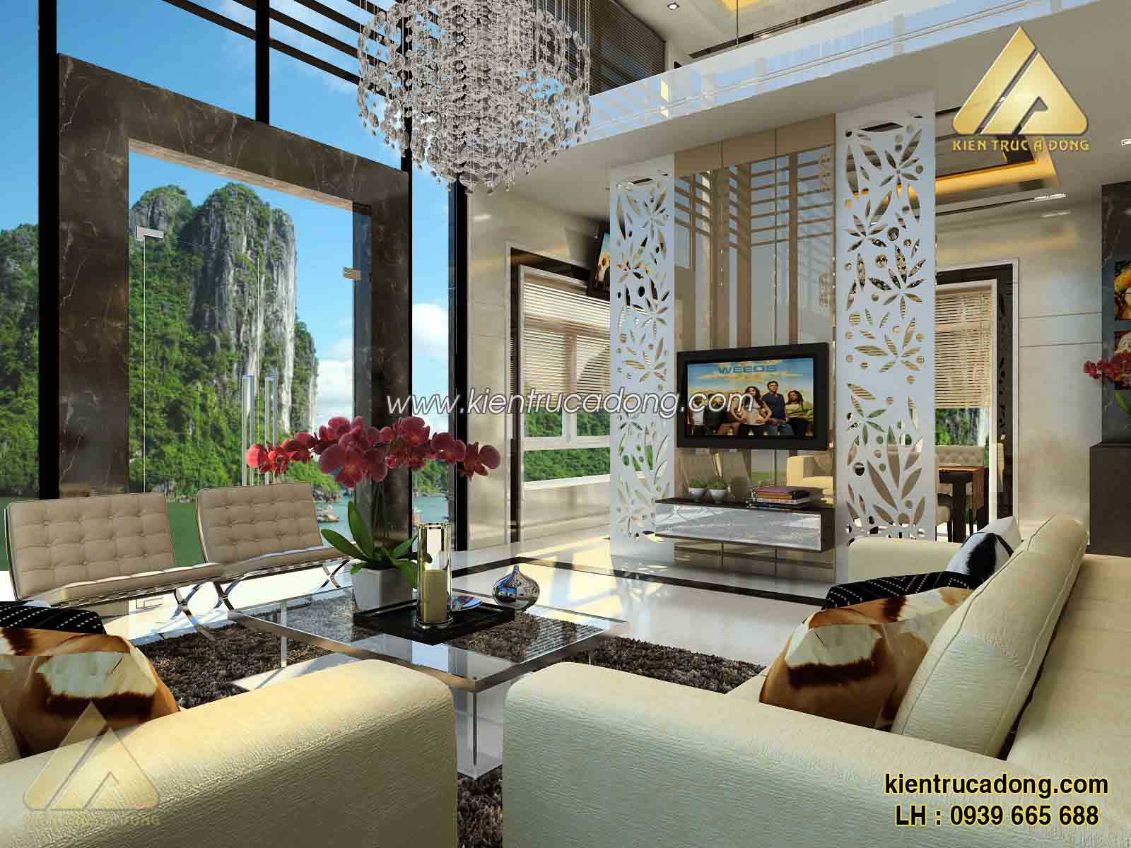Tìm hiểu những đặc điểm biệt thự hiện đại trong thiết kế kiến trúc