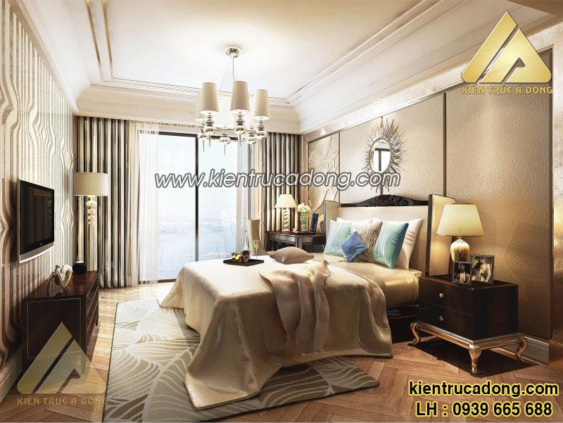 Căn hộ xinh xắn với nội thất phòng ngủ tân cổ điển đẹp như mơ
