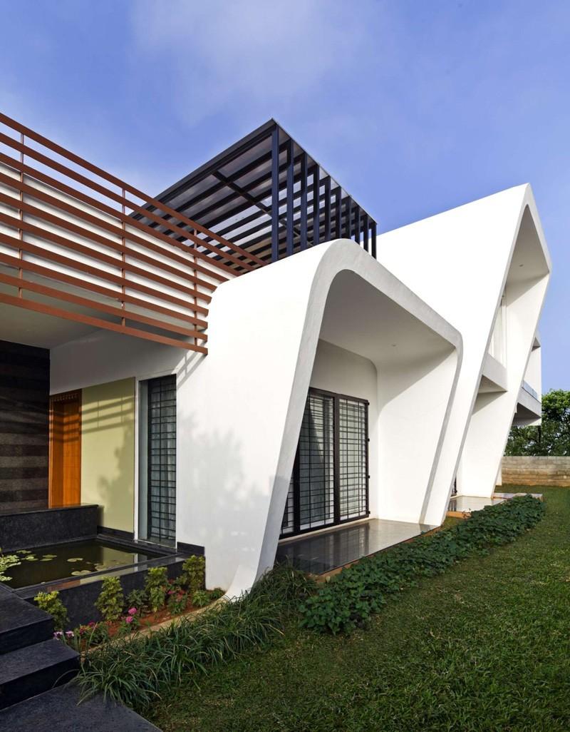 Mẫu biệt thự đẹp thiết kế độc đáo