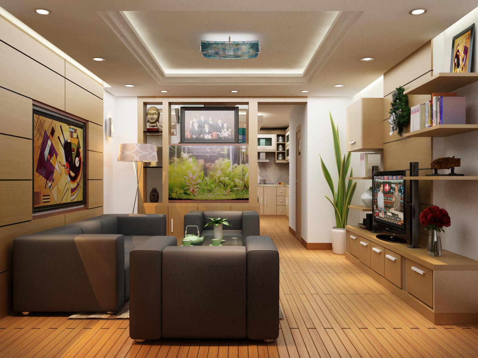 10 mẫu nội thất phòng khách cực đẹp