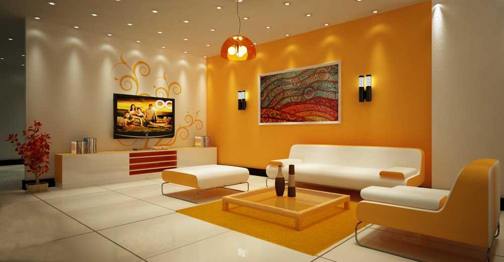 Chọn màu sắc và bố trí phòng khách cho gia chủ tuổi ...