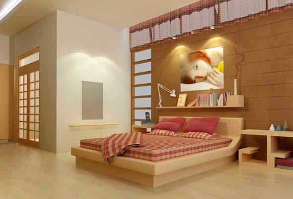 Phòng ngủ hợp phong thủy cho tuổi 1963 Qúy Mão