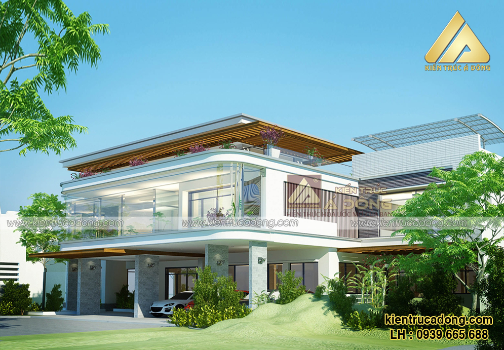 Mẫu biệt thự siêu hiện đại đắt giá nhất tại Quảng Ninh