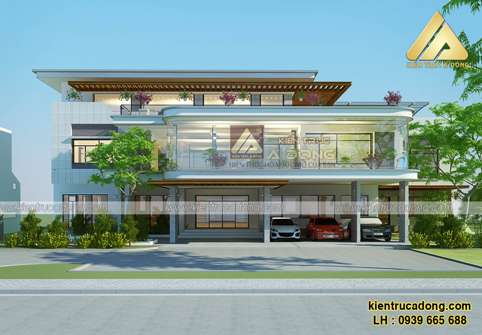 Mẫu biệt thự hiện đại cao cấp ở Quảng Ninh