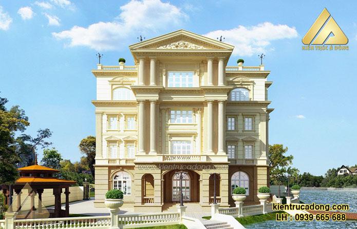 Thiết kế biệt thự cổ điển Vincom TP Hà Nội