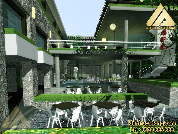 Tư vấn thiết kế xây dựng quán trọn gói