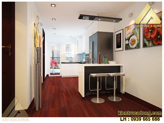 Gợi ý thiết kế nội thất chung cư diện tích nhỏ