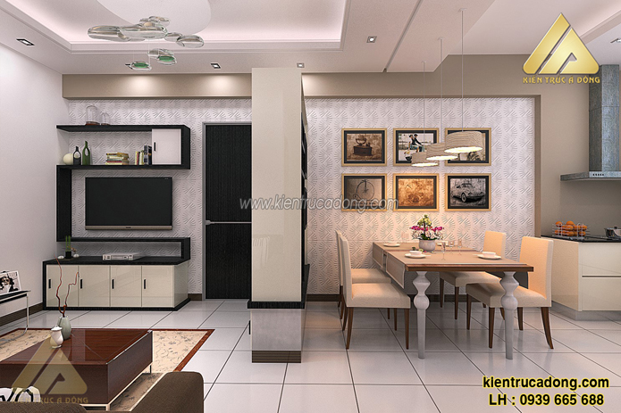Hướng dẫn thiết kế nội thất cho căn hộ chung cư có diện tích nhỏ