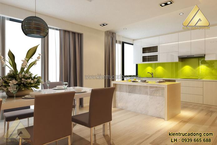 Thiết kế thi công nội thất chung cư hiện đại đẹp nhất ở Hà Nội