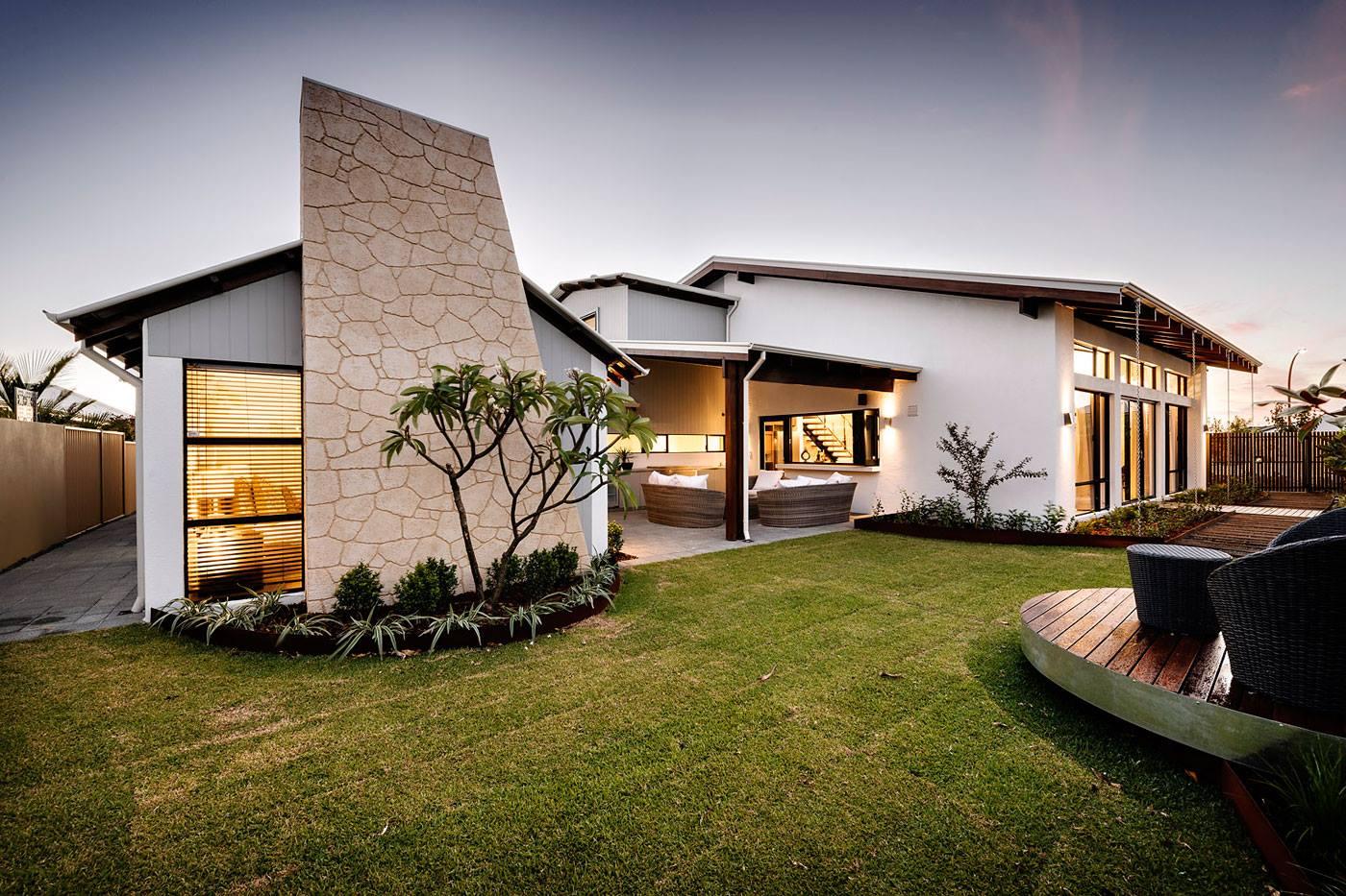 Mẫu nhà biệt thự vườn 1 tầng mang phong cách hiện đại