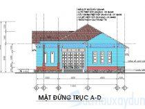 [Tham khảo] Bản vẽ thiết kế biệt thự 1 tầng cho anh em