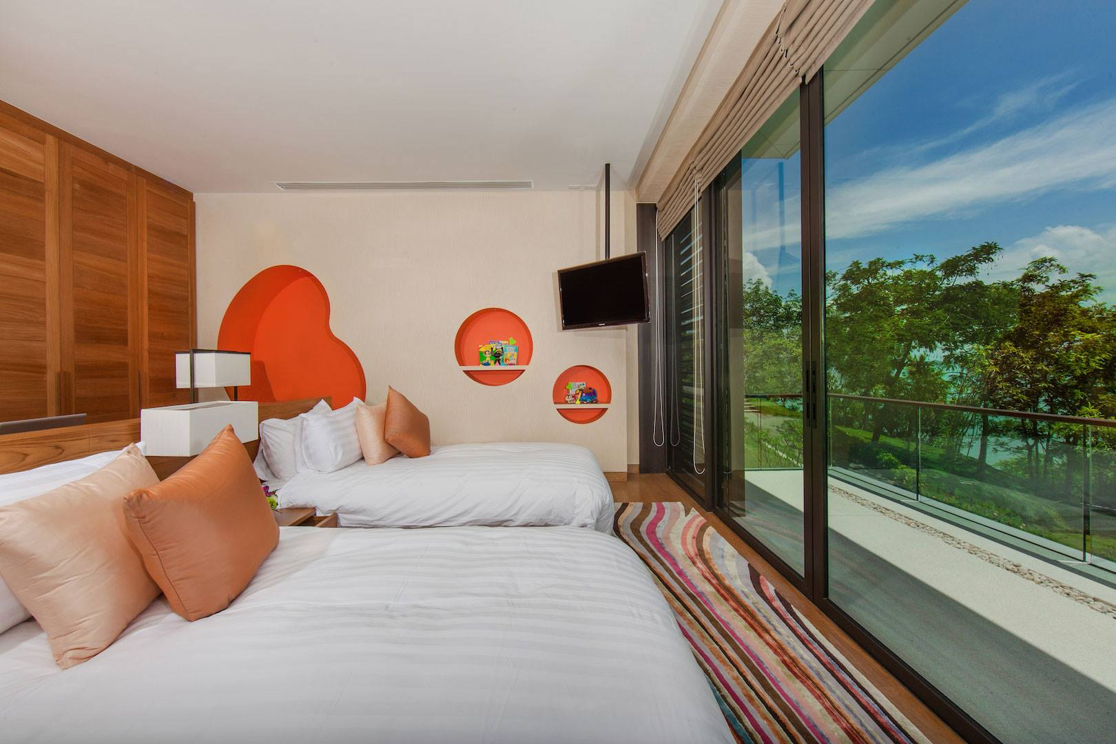 Phòng ngủ BỐ MẸ - Nội thất biệt thự 1 tầng phong cách châu Âu