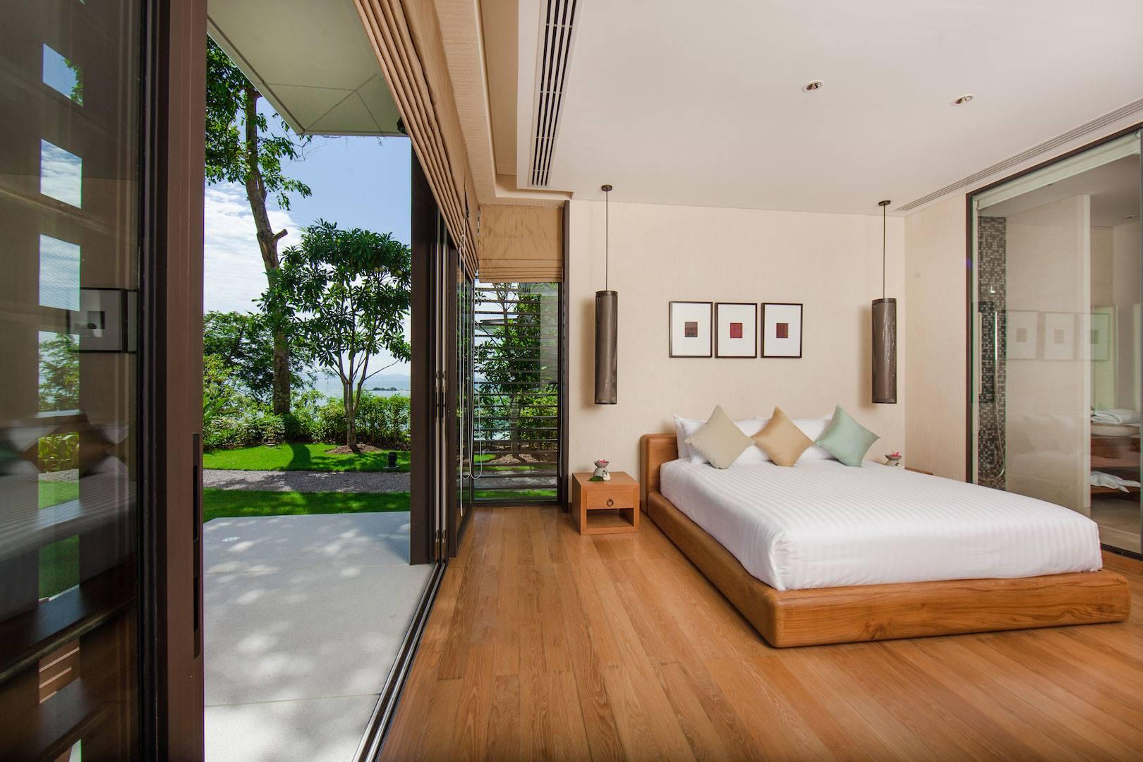 Phòng ngủ - Nội thất biệt thự 1 tầng phong cách châu Âu