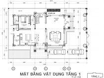 [Hỏi xin] File cad mặt bằng nhà biệt thự 3 tầng để tham khảo
