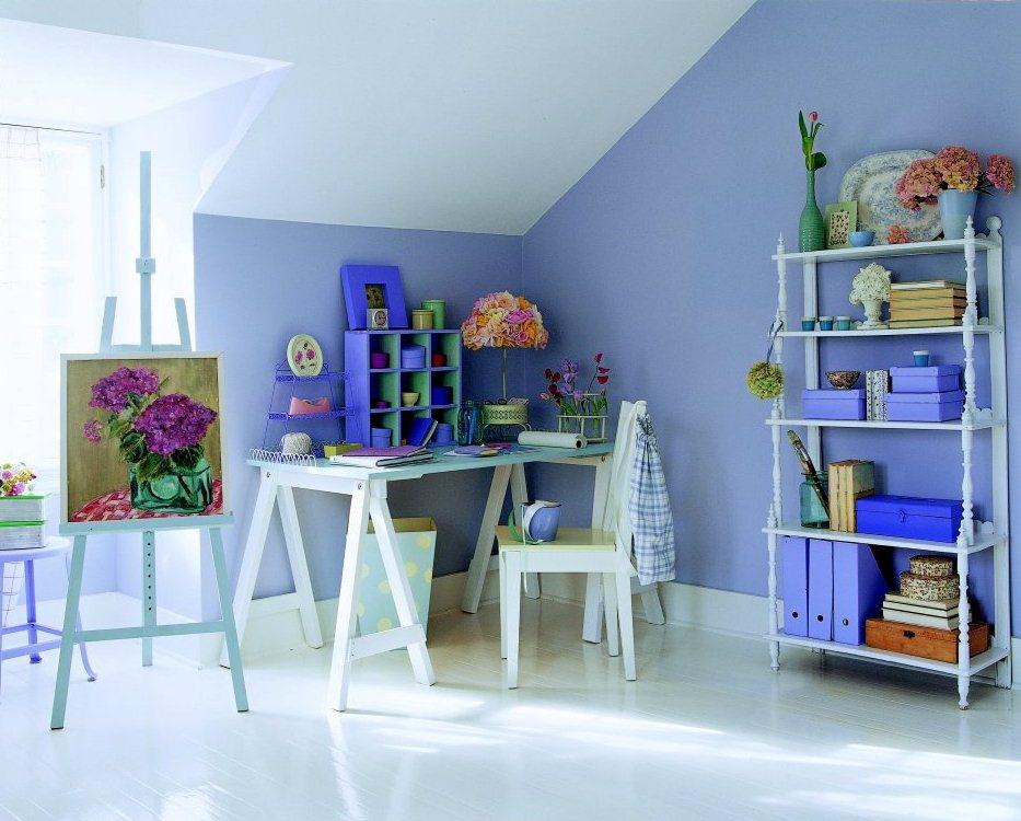 Sơn tường nhà đẹp cho nội thất