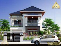 [Hỏi đáp] Thiết kế & phối màu sơn nhà 100m2 cho biệt thự