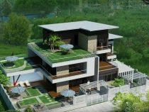 Mẫu biệt thự vườn 3 tầng đẹp hợp phong thủy