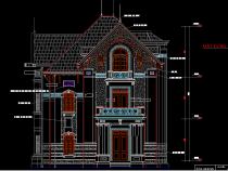 [Hỏi xin] Bản vẽ biệt thự 3 tầng lộng lẫy nhiều tiện nghi