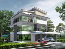 Kích thước biệt thự 3 tầng phù hợp với không gian nhà bạn