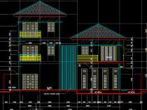 [Hỏi xin] Bản thiết kế nhà biệt thự 3 tầng mái thái