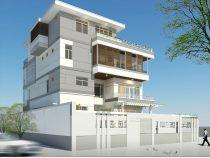 Thiết kế nhà biệt thự 4 tầng độc đáo, tồn tại mãi với thời gian