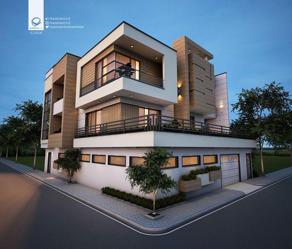 Mẫu biệt thự phố 3 tầng hiện đại đẹp nhất Việt Nam
