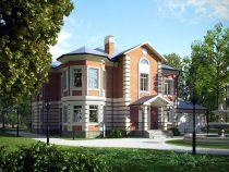 Thiết kế biệt thự 2 tầng sang trọng và đẳng cấp nhất Châu Âu