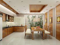 [Hỏi đáp giá] Thiết kế nội thất phòng ăn 60m2 hết bao tiền?