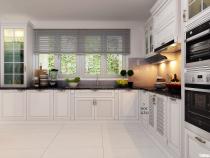 [Hỏi đáp giá] Báo giá tủ bếp gỗ sồi trắng bền – đẹp – tiện nghi nhất