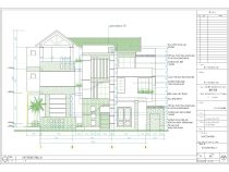 [Hỏi xin] Bản vẽ kiến trúc nhà biệt thự 3 tầng hiện đại