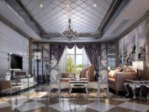 Nội thất biệt thự 3 tầng hiện đại kiểu Pháp đẹp nhất