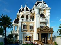 Nét đẹp của những mẫu kiến trúc biệt thự 3 tầng cổ điển