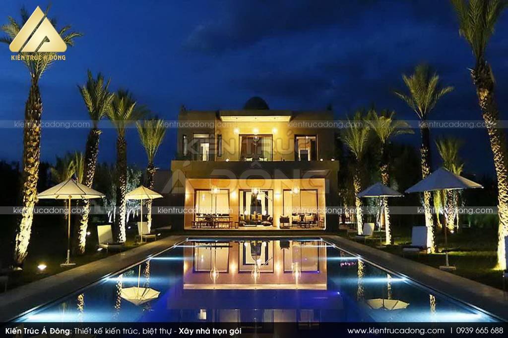 Mẫu biệt thự nghỉ dưỡng hiện đại tuyệt đẹp