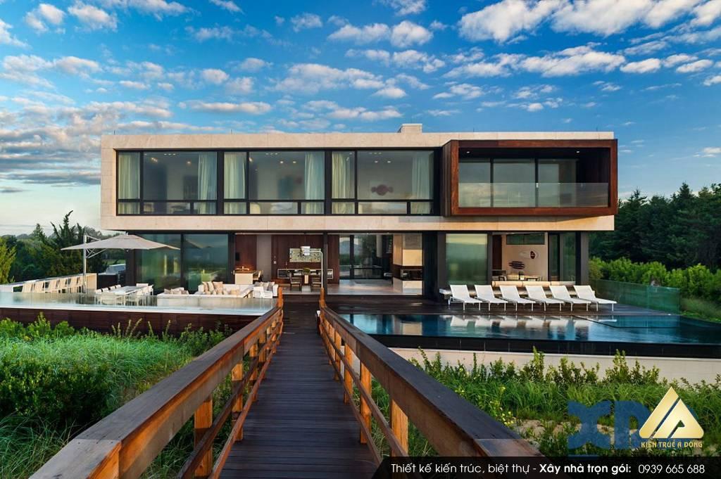 Mẫu biệt thự nghỉ dưỡng đẹp đáng sống, đáng mơ ước