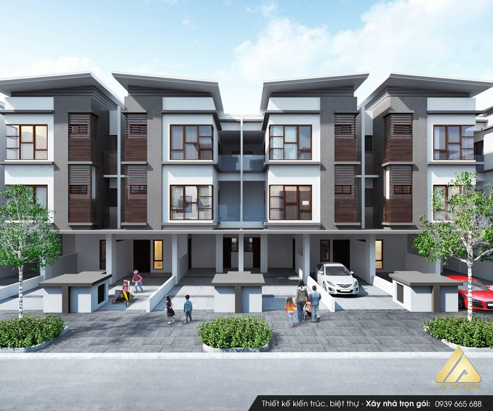 Mẫu biệt thự hiện đại 3 tầng sang trọng tại TP Quảng Ninh