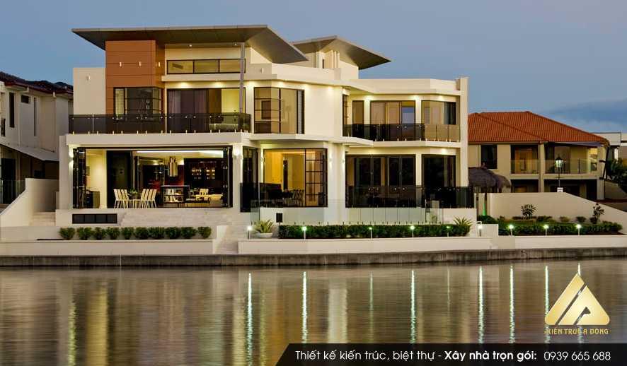 Mẫu thiết kế biệt thự 2 tầng hiện đại tại Đà Lạt