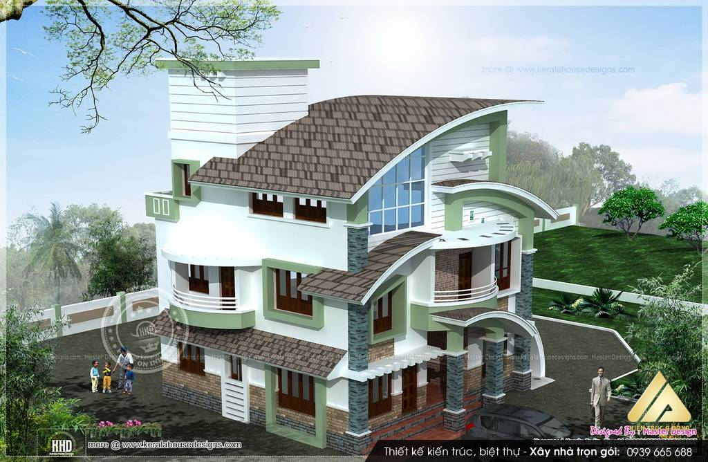 Mẫu thiết kế biệt thự đẹp hiện đại TP Hà Nội