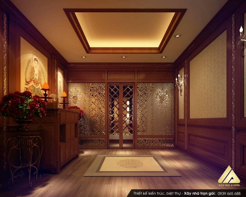 Mẫu biệt thự cổ điển 5 tầng đẹp, đẳng cấp tại Hà Nội
