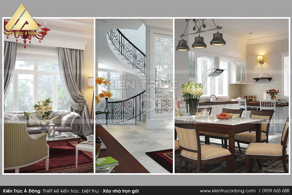 Mẫu biệt thự hiện đại 4 tầng đẹp tại TP Nha Trang