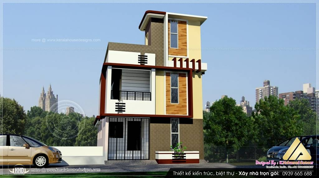 Mẫu nhà biệt thự 3 tầng đẹp, sang trọng tại Hà Nội