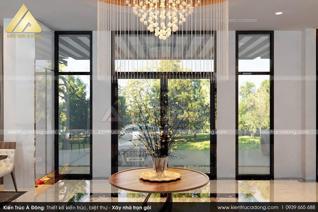 Mẫu thiết kế nhà biệt thự 2 tầng thu hút mọi góc nhìn