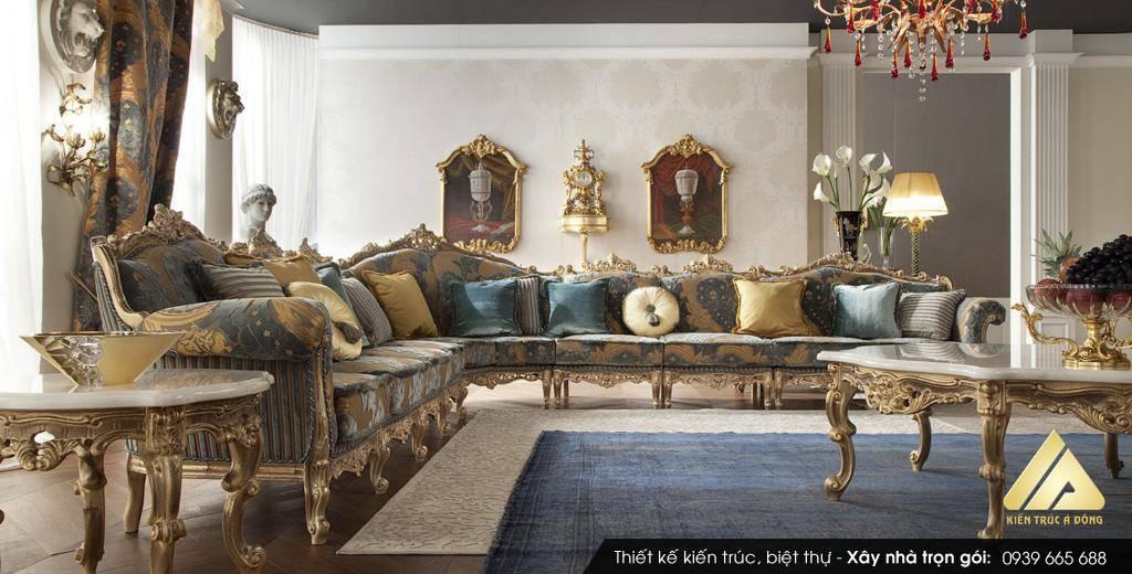 Mẫu biệt thự cổ điển đẹp, sang trọng ở Nam Định