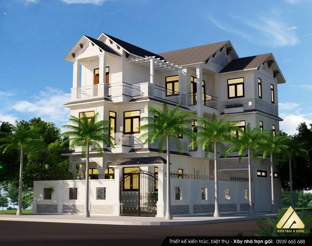 Thiết kế biệt thự 3 tầng đẹp khó rời mắt tại TP Hồ Chí Minh