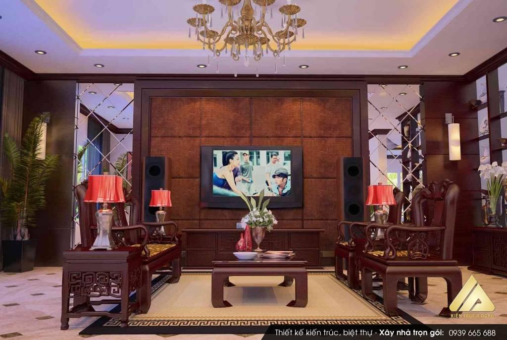 Mẫu thiết kế biệt thự 3 tầng đẹp đáng sống tại TP Hồ Chí Minh