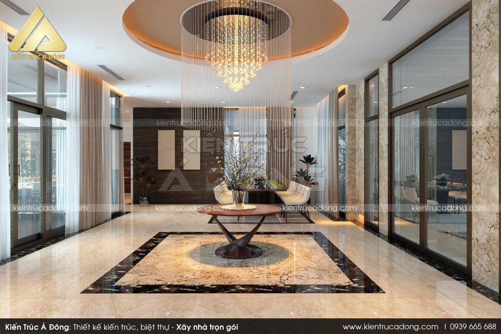Thiết kế biệt thự cao cấp hiện đại 3 tầng sang trọng