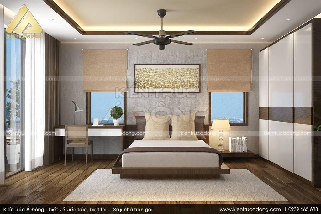 Mẫu biệt thự 2 tầng mái Thái đẹp, sang trọng tại Phú Thọ