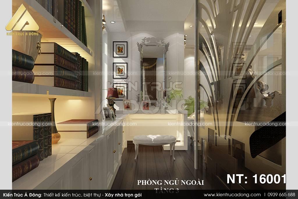 Mẫu biệt thự 3 tầng cổ điển sang trọng nhất TP Hà Nội