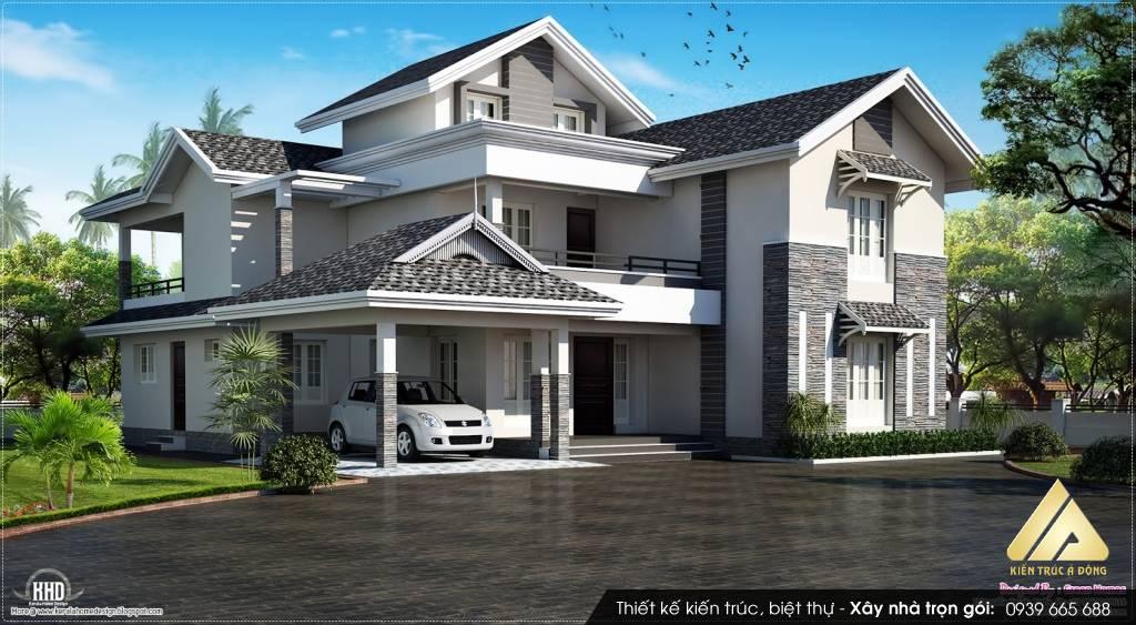 Tổng hợp các mẫu dinh thự hiện đại đẹp nhất