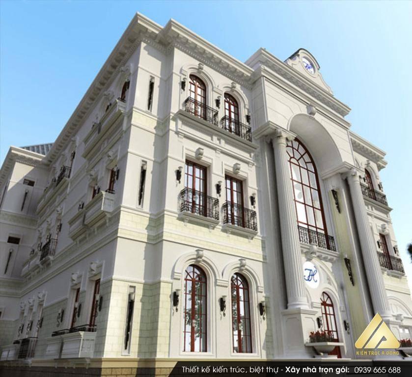 Mẫu biệt thự cổ điển 4 tầng sang trọng tại Hải Phòng