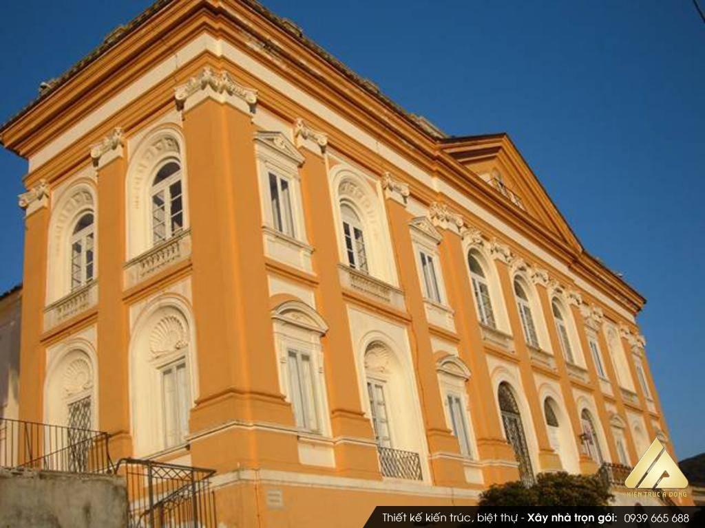 Dự án thiết kế biệt thự cổ điển kiểu Pháp đẳng cấp